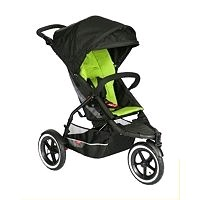 3 wheel pushchair